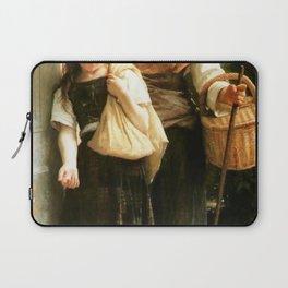 William-Adolphe Bouguereau - Little Beggars Laptop Sleeve