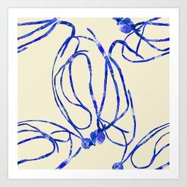 Seaweed Abstract Art Print