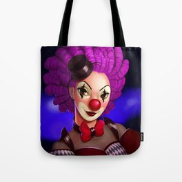 The Pink Clown in the Limelight Tote Bag