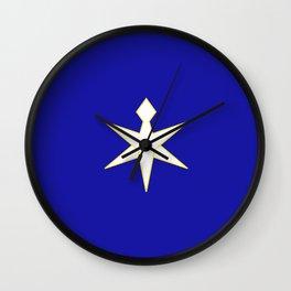 flag of Chiba prefecture Wall Clock