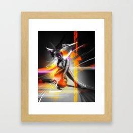 EXPRESSION_#004 Framed Art Print