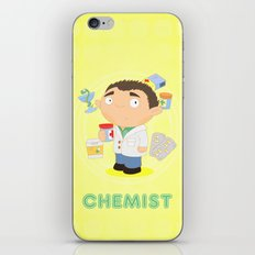 CHEMIST iPhone & iPod Skin