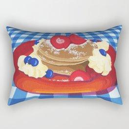 Pancakes Week 10 Rectangular Pillow