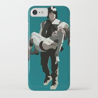 beth hoeckel iPhone & iPod Cases featuring daryl and beth by Mia Eshkol