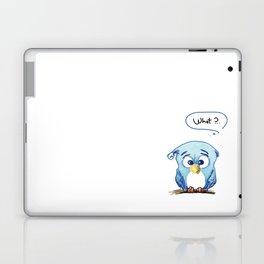 Funny owl Laptop & iPad Skin