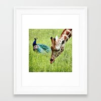friendship Framed Art Prints featuring Friendship by Nishanth Gopinathan