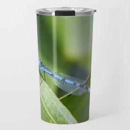 Blue Damsels Fly Too Travel Mug