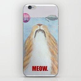 Meows. iPhone Skin