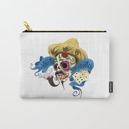 Muerte Bigotes Carry-All Pouch