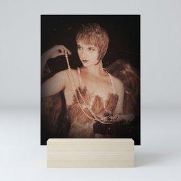 Actress in Canary Costume Mini Art Print