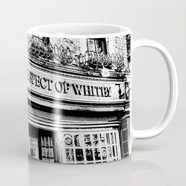 Prospect of  Whitby Pub London 1520 art Coffee Mug