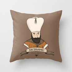 Sultanahmet, Istanbul Throw Pillow