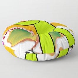 Soccer Player Floor Pillow