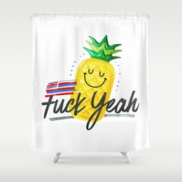 Pool time! Shower Curtain