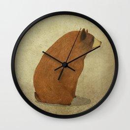 The bear Wall Clock