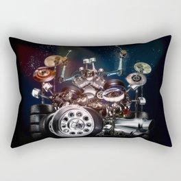 Drum Machine - The Band's Engine Rectangular Pillow