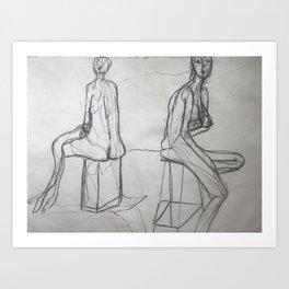The Women | Art Print