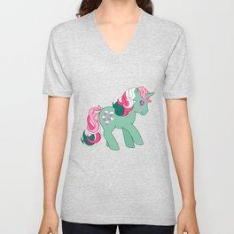 g1 my little pony Fizzy Unisex V-Neck