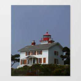 Yaquina Bay Ligthhouse Canvas Print