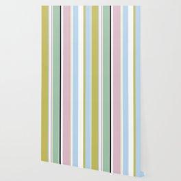 Pastel Stripes Wallpaper