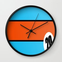 Mc Queen 917 Wall Clock