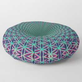 Creating Reality Floor Pillow