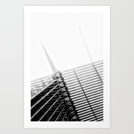 Milwaukee Art Museum Art Print