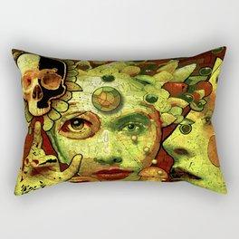 Orange Slice Rectangular Pillow