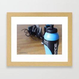 Training Framed Art Print