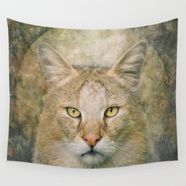 The Hunter Cat Wall Tapestry