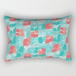 Red&Blue Rectangular Pillow