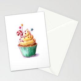 Christmas cupcake Stationery Cards