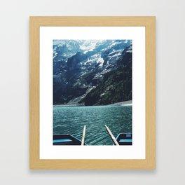 Boating Day Framed Art Print
