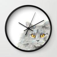 zelda Wall Clocks featuring Zelda by Priscilla Moore