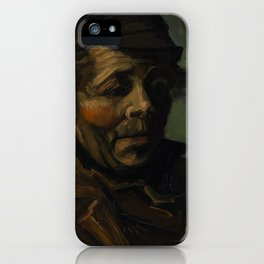Vincent Van Gogh Head Of A Peasant iPhone Case