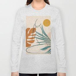 Minimal Line in Nature III Long Sleeve T-shirt