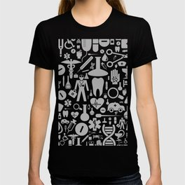 Medical background T-shirt