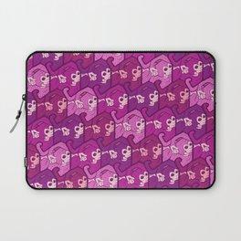 Purple monkeys Laptop Sleeve