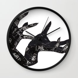 Hail to the king Wall Clock