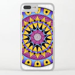 Mandala Fertility Clear iPhone Case