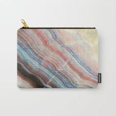 Pastel Onyx Marble Carry-All Pouch
