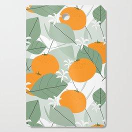 Oranges Cutting Board