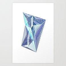 Geminate - Twilight Art Print