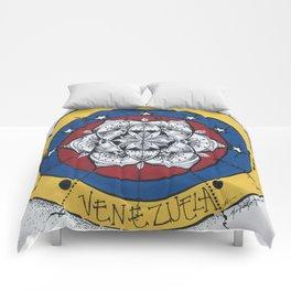 Venezuela Libre Comforters