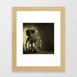 Lamebot Framed Art Print