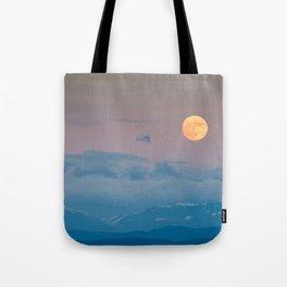 Full super moon December 2017 Tote Bag