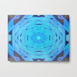 Hydro Nebula Metal Print