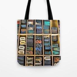 Wood Type II Tote Bag