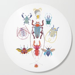 Stitches: Bugs Cutting Board