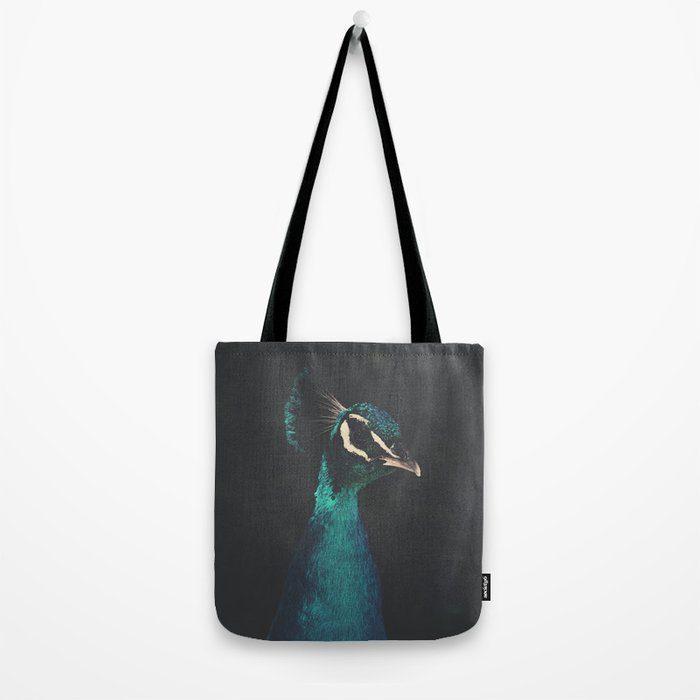 peacock and proud Tote Bag